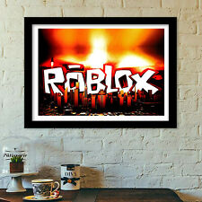 roblox logo 2 poster print all sizes modern art deco XXL