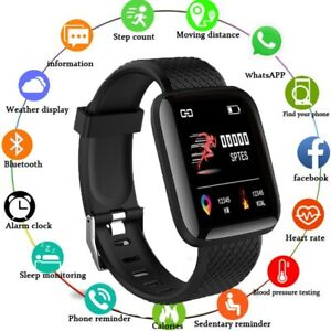Smart Watch For Apple IOS Android Smart Fitness Tracker Blood Pressure Measure