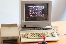Commodore C64c, Diskettenlaufwerk 1541 und Joystick funktioniert (OHNE MONITOR!)