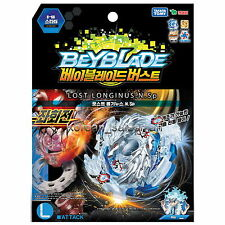 BEYBLADE BURST B-66 STARTER LOST LONGINUS.N.Sp/ Left Spin Takara Tomy Kids Toy