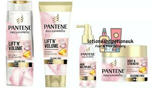 Pantene Pro V LIFT 'N' AND VOLUME Shampoo Conditioner  Hair Multiplier & Mask