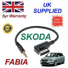 SKODA FABIA MDI azo800004 ENTRADA AUX 3.5mm Cable de audio