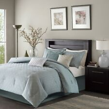 Plum Madison Park Hampton 7 Piece Comforter Set California King