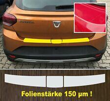 Lackschutzfolie Ladekantenschutz transparent Dacia Sandero ab 2020  150 µm