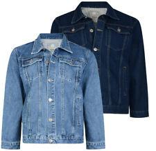 Men's KAM Big Size Heavy Duty Western Classic Denim Jacket Work wear 2-8XL