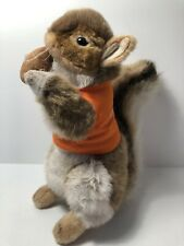 Hansa Bankwest Squirrel Plush Posable Toy Collectable
