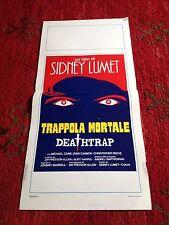 Trappola Mortale Deathtrap locandina poster Sidney Lumet Michael Caine Reeve