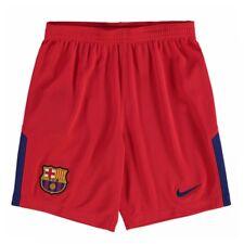 2017-2018 Barcelona Away Nike Goalkeeper Shorts (Red) - Kids