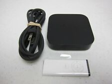 Apple TV (3rd Generation) w/ Remote and Power Cord - Black - Model A1469 - Works