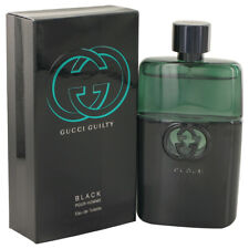 Gucci Guilty Black Cologne 3 oz Eau De Toilette Spray for Men Gift Fathers day
