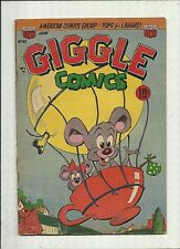 GIGGLE COMICS #83 1952  ACG GOLDEN AGE  HUMOR/ FUNNY ANIMALS   GD+