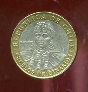 CHILI  CHILE   100 pesos  2005  ( aus )