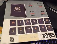 DAVO Stamp Album Pages ITALIA Delux 1985 NEW High Quality RARE Find