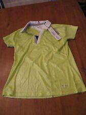 Womens Annika Golf Shirt, NWT, M
