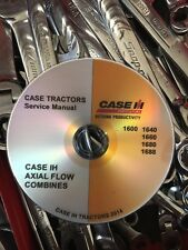 Best Case Ih 1680 Combine Tractor Workshop Service Repair Manual Dvd 8-29186