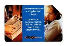 SCHEDA TELEFONICA TELECOM - INTERCOMUNICANTI E CENTRALINI INSIP