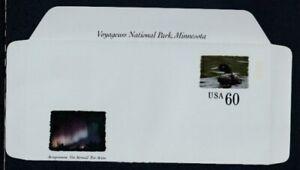 USA Voyageurs National Park, Minnesota MNH Aerogramme
