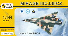 Mark I Models 1/144 Model Kit 14493 Dassault Mirage IIICJ/CZ 'Mach 2 Warrior'