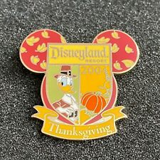 Disney DLR Donald Duck Thanksgiving 2004 Cast Exclusive Holiday Series Pin