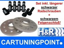 H&R Wheel Spacer MERCEDES A-CLASS TYPE 176+ AMG 24mm + BOLTS + Lock Black