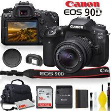 Canon EOS 90D DSLR Camera + 18-55mm Lens Starter Bundle 01