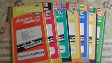 notenhefte für Keyboards und el Orgeln