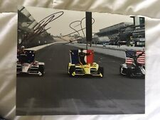 Ed Carpenter Will Power Simon Pagenaud Indy 500 Signed 8x10 Photo 2018 Front Row