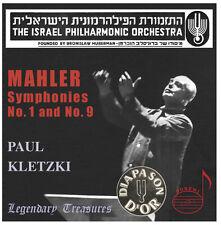 Paul Kletzki, G. Mahler - Symphonies Nos 1 & 9 [New CD]