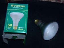Set of Two Bulbrite 50BR30FL2 50-Watt 120V Incandescent ndoor Reflector Bulbs