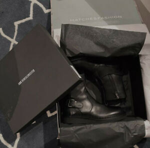Ann Demeulemeester authentic black ankle boots 38