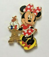 Disney Pin Badge DLP - Minnie holding Eiffel Tower