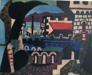 PABLO PICASSO, Juan-Les-Pins (1924) Vintage, Offset Lithograph 1946  Unsigned