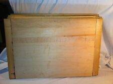 Cutting Board Maple Wood Butcher Kitchen Reversible Thick factory seconds