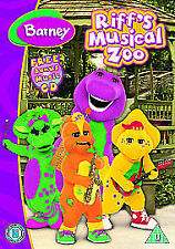 Barney: Riff's Musical Zoo  DVD NEW