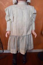ROBE ANCIENNE POUPEE ANCIENNE ANTIQUE DOLL DRESS POUPON BAIGNEUR ANCIEN JUMEAU