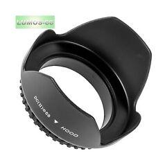 Gegenlichtblende 58mm kompatibel mit Panasonic Lumix 14-140 Olympus 14-150 mm