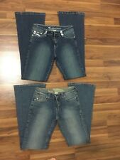 Set of 2 BEBE Brand Womens Jeans size 5/6
