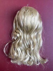 "TONNER TYLER WENTWORTH CAMI 16"" BLONDE Hair Doll Wig Sz 5-6 Bangs + Attachments"