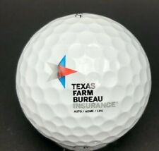 Texas Farm Bureau Insurance Logo Golf Ball (1) Titleist Pro V1x PreOwned