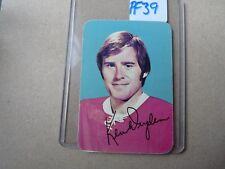 VINTAGE HOCKEY INSERT CARD TOPPS 1977  KEN DRYDEN MONTREAL CANADIEN   PF39