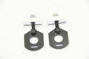 BMX Bike Bicycle Chain Adjuster Tensioner Hole 14mm 2pc