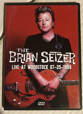 Brian Setzer Orchestra - Live At Woodstock '99 - Rare Dvd!