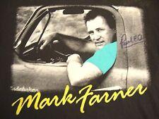 Vintage Mark Farner Band Funk Christian Music Autographed Signed T Shirt M