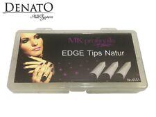 Edge Tips Natur 500pcs UV LED Gel Nail Art High Quality Flexible Tips Denato UK