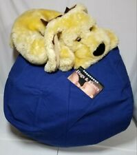 Stuffable Kids Stuffed Animal Storage Bean Bag Chair Cover