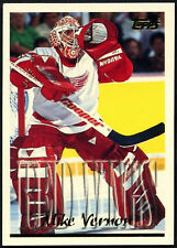 Mike Vernon #160 Detroit Red Wings Topps 1995-6 Ice Hockey Card (C531)