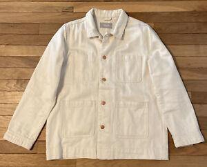 Everlane Chore Jacket Cream Size L