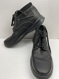 Clarks Ortholite Mens Boots US SZ 11 Black