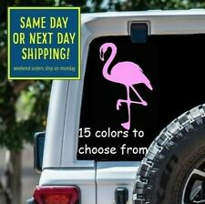 8 Sizes Pink Flamingo Car Window Decal Sticker Laptop Macbook Tablet Wall Gift