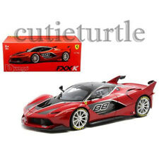 Bburago Signature Series Ferrari FXX-K #88 1:18 Diecast Model Car 18-16907 Red